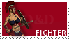 DnD class stamp - Fighter by Grinmir-stock