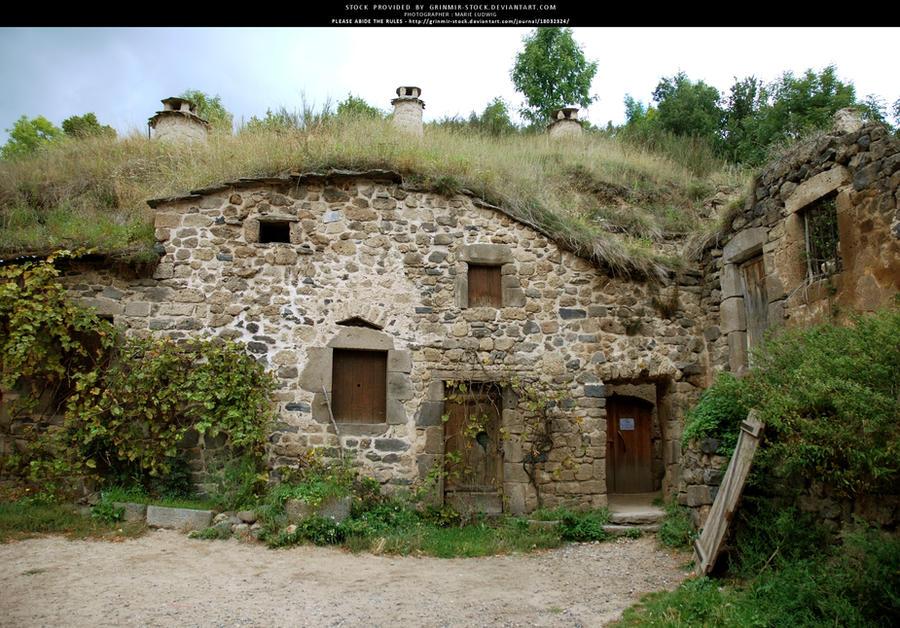 Troglodytic house by Grinmir-stock