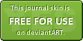 Btn: Free dA Journal skin by Grinmir-stock