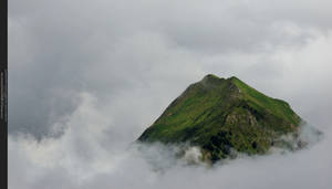 Mountains X - In the clouds by Grinmir-stock