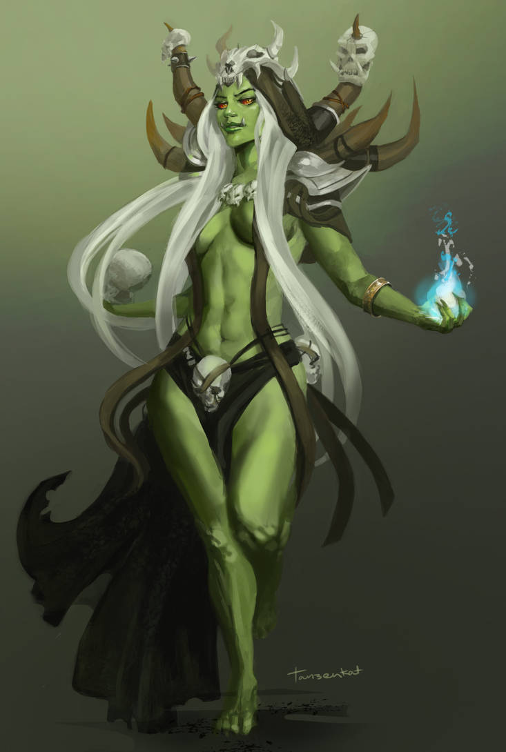 Female Orc by Tanzenkat