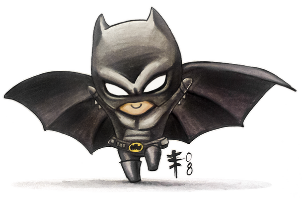Chibi Batman -Fandemonium 08- by AnimeGirlMika on DeviantArt