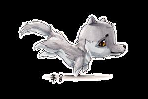 Chibi Wolf by AnimeGirlMika