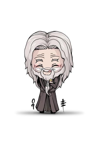 Chibi Dumbledore by AnimeGirlMika