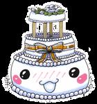 Chibi Wedding Cake