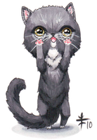 Chibi Kitty II -Fand 10- by AnimeGirlMika
