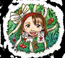 Christmas Card 2007 by AnimeGirlMika