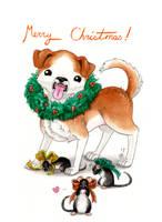Christmas Card 2011 by AnimeGirlMika