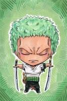 Chibi Zoro Counterpart by AnimeGirlMika