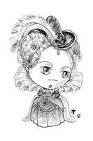 Fandemonium 2012 Commission - Elizabeth I by AnimeGirlMika