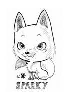 Fandemonium 2012 Commission - Sparky by AnimeGirlMika