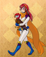 Kikai Challenge 2012 Nov - Miu and Shichimencho by AnimeGirlMika
