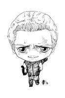 Tomodachi Fest Commission 5 - Hawkeye by AnimeGirlMika