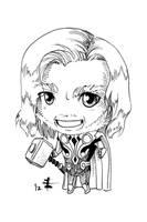 Tomodachi Fest Commission 1 - Thor by AnimeGirlMika