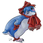 Little Blue Lolita Penguin