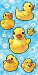 Tea Ducks (Full) by AnimeGirlMika
