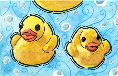 Tea Ducks (Katrina) by AnimeGirlMika
