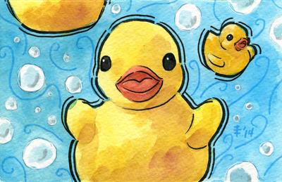 Tea Ducks (Krystal) by AnimeGirlMika