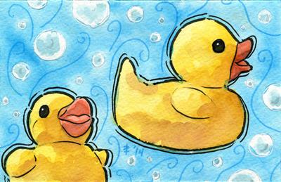 Tea Ducks (Denise) by AnimeGirlMika