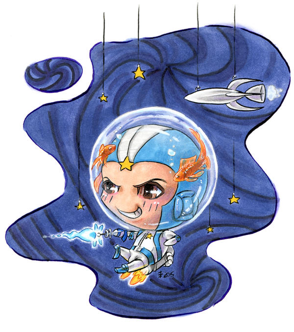 chibi astronaut - photo #38