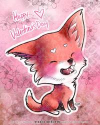 Valentine's Kitsune-chan