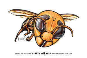 Chibi Japanese Hornet