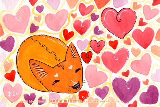 Mofumofu Cuddle Hearts