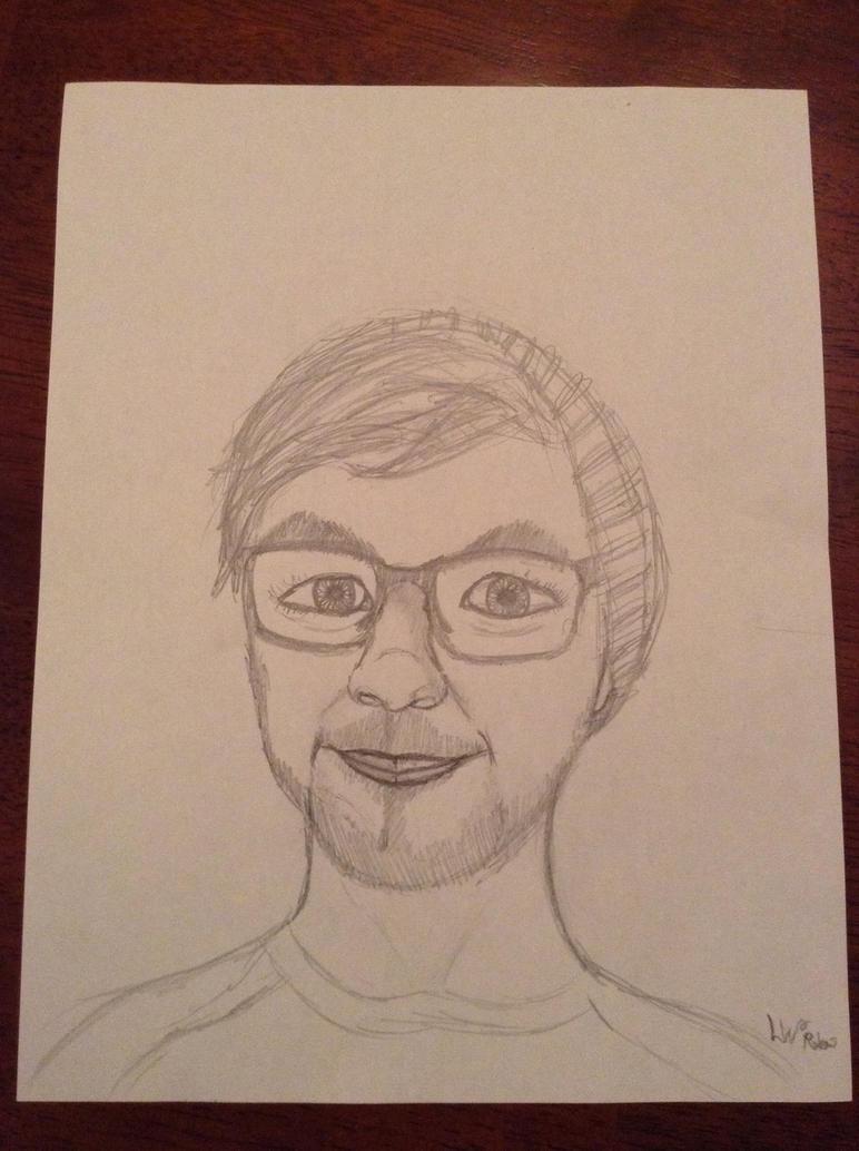 Jacksepticeye drawing (kinda finished)  by TZSLili