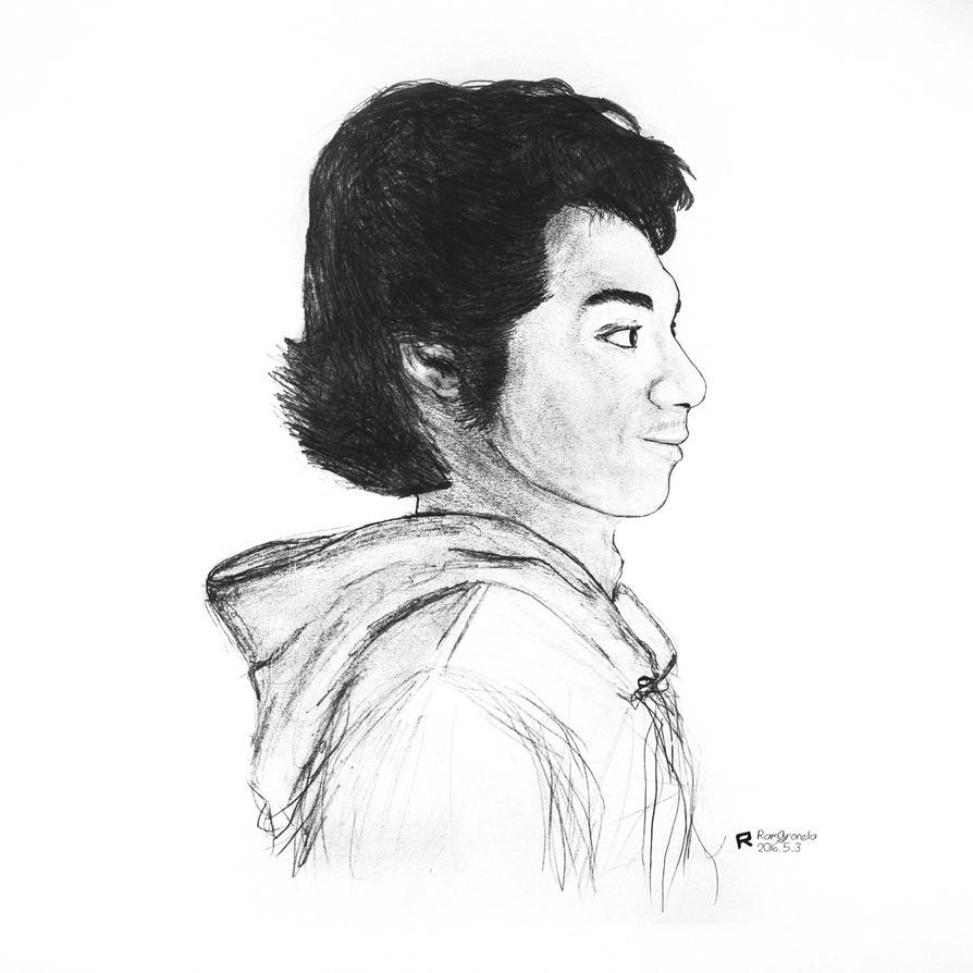 Self portrait by Giro54