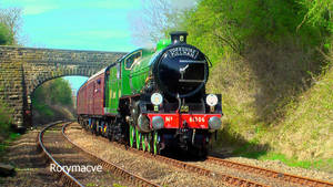 LNER 61306 at Carnforth by The-Transport-Guild