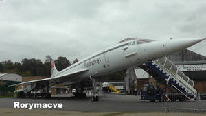 British Airways Bae-Aerospatiale Concorde G-BBDG