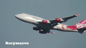 Virgin Atlantic Boeing 747-4Q8 G-VFAB