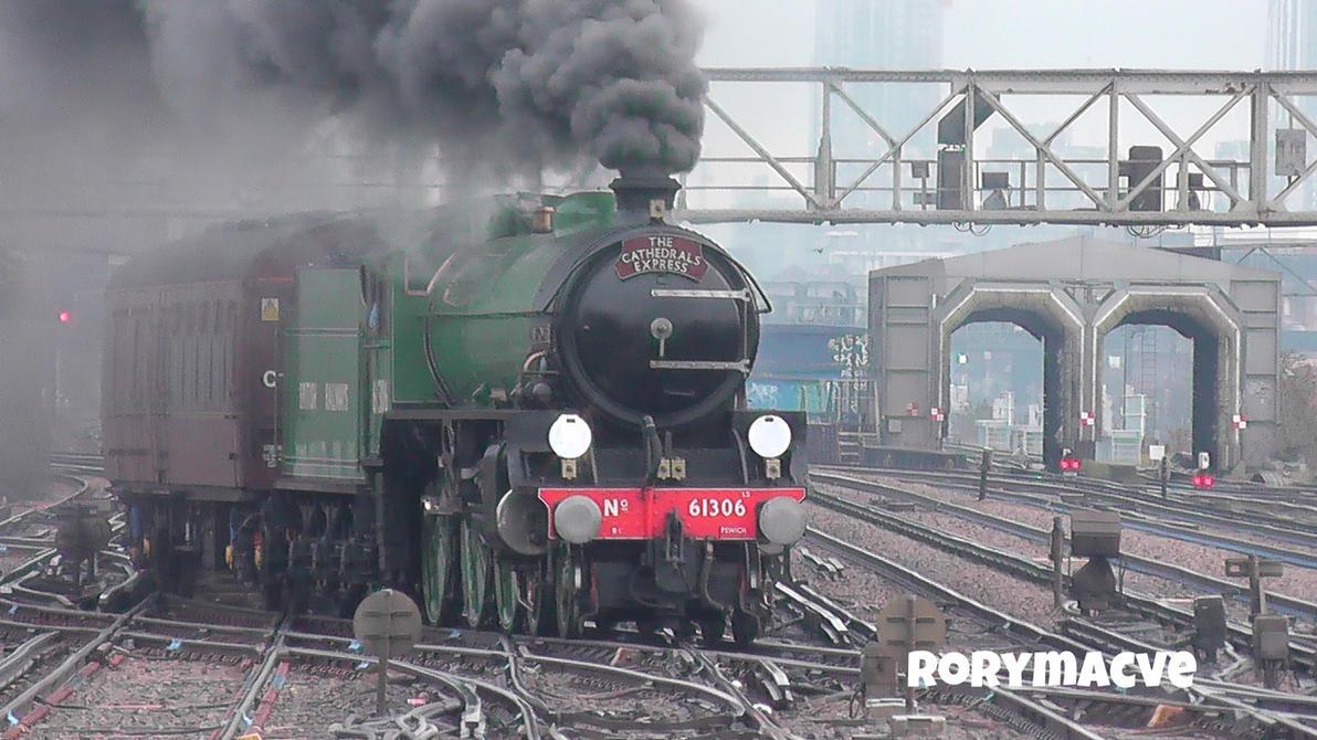 LNER 61306 'Mayflower' at Clapham Junction by The-Transport-Guild