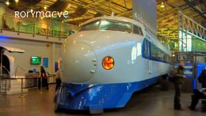JR 0 Series Shinkansen by The-Transport-Guild