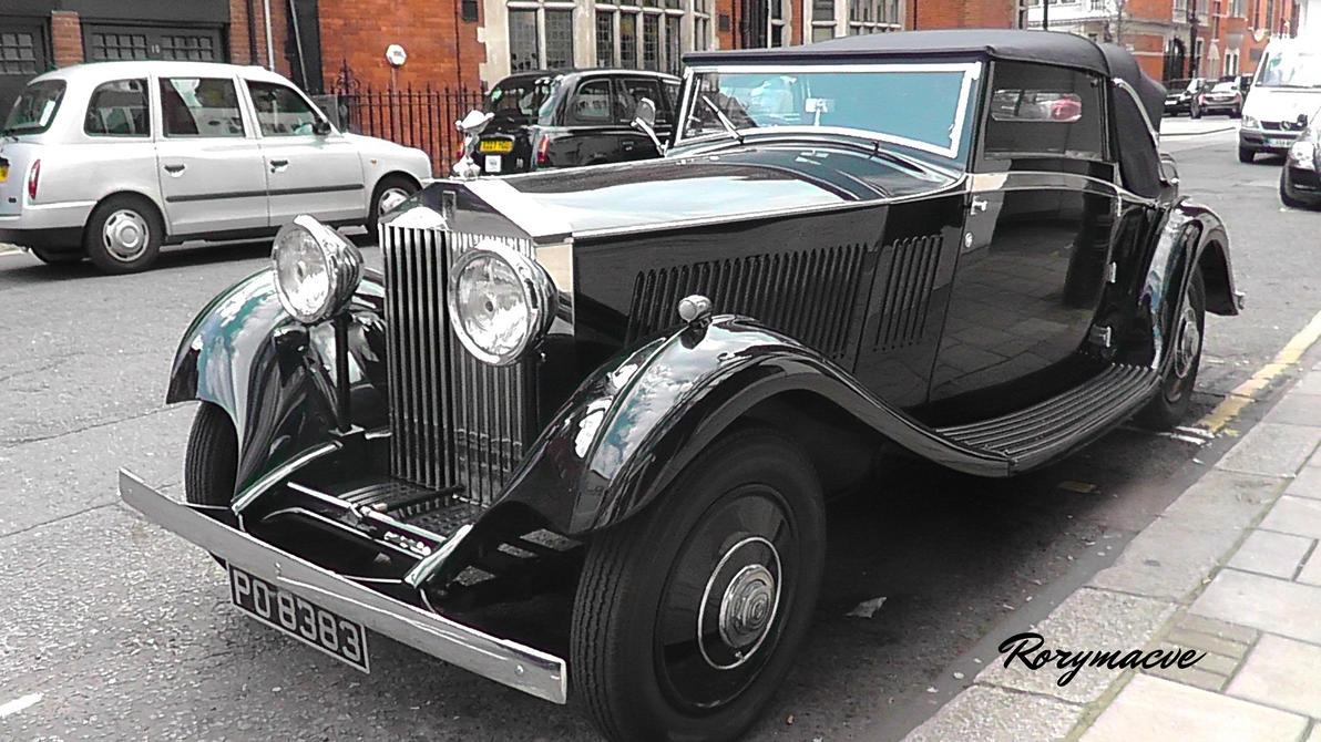 1933 Rolls-Royce 20/25HP by The-Transport-Guild on DeviantArt