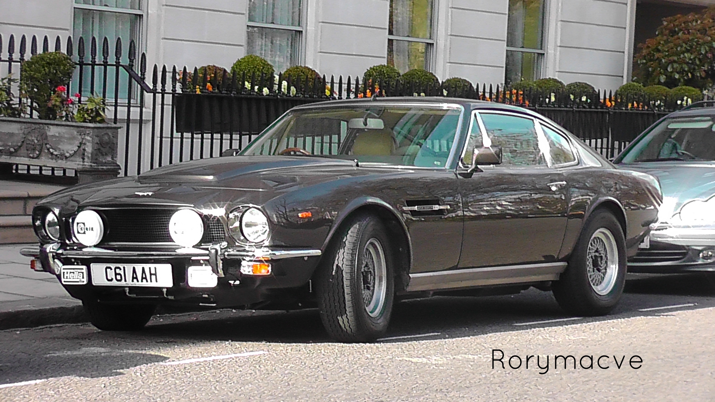 1985 Aston Martin V8 Vantage By The Transport Guild On Deviantart