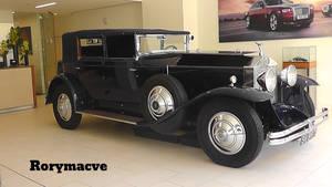 1930 Rolls Royce Phantom I Newmarket Convertible