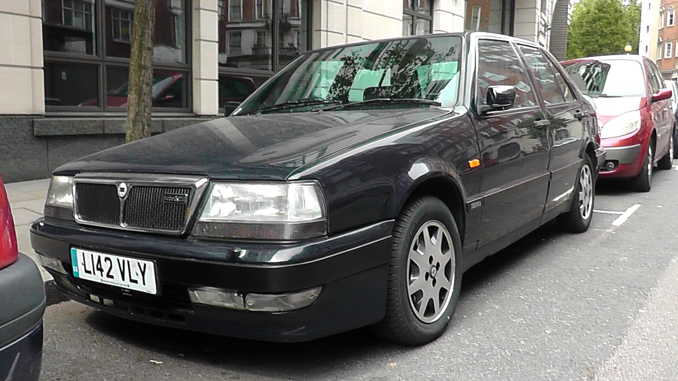 1993 lancia thema turbo 16v ls by the transport guild on. Black Bedroom Furniture Sets. Home Design Ideas