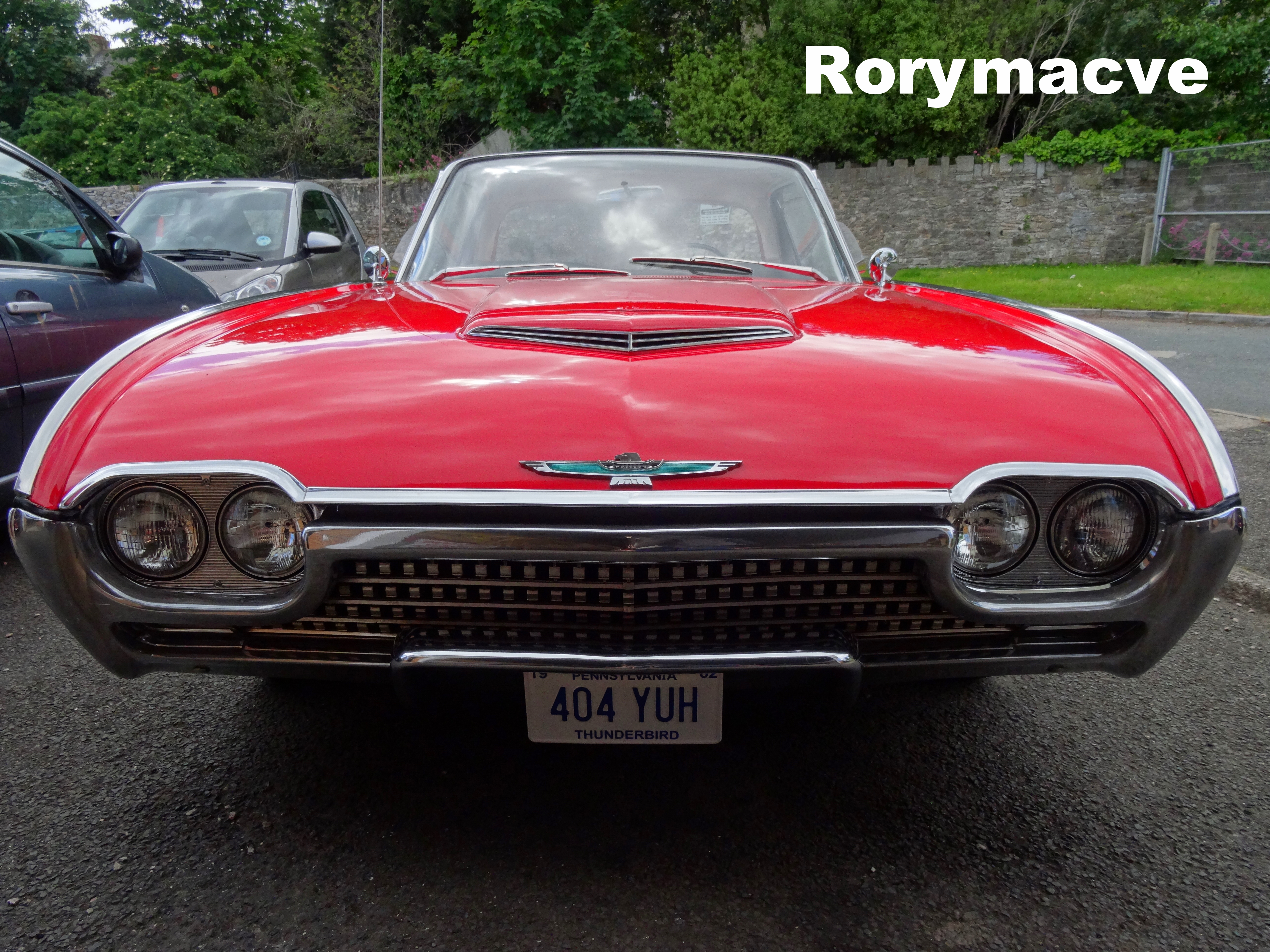 1962 Ford Thunderbird By The Transport Guild