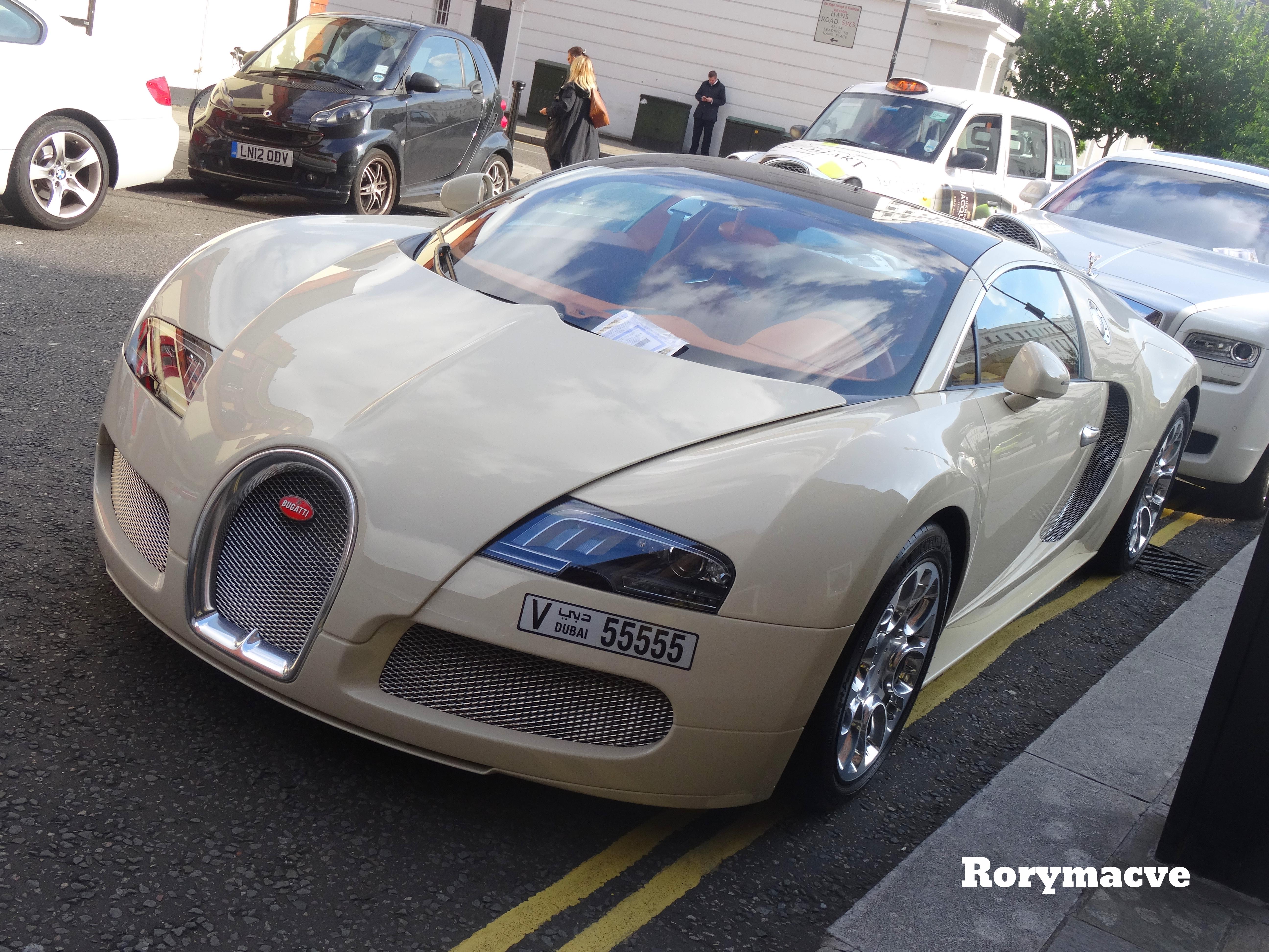 Bugatti Veyron Going Back To The Future Art Promo
