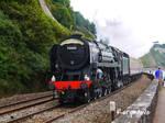 British Railways 70000 'Britannia' at Teignmouth
