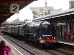 LMS 46233 'Duchess of Sutherland' at Teignmouth