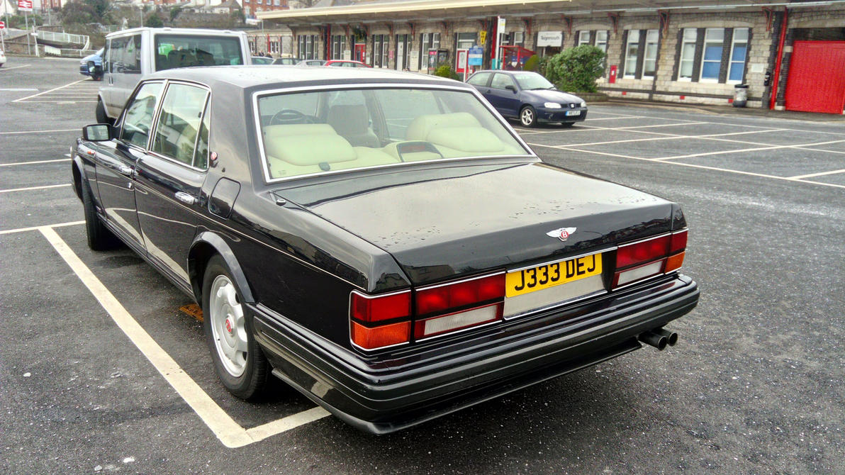 1991 bentley turbo r by the transport guild