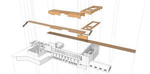 Axonometric Tide Mill [Sketchup]