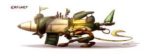 Ratchet and the Qwarktastic Boom Stick