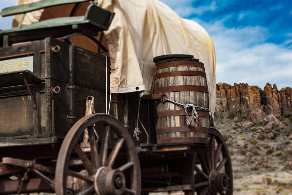 Restored wagon by sydneythecoherent