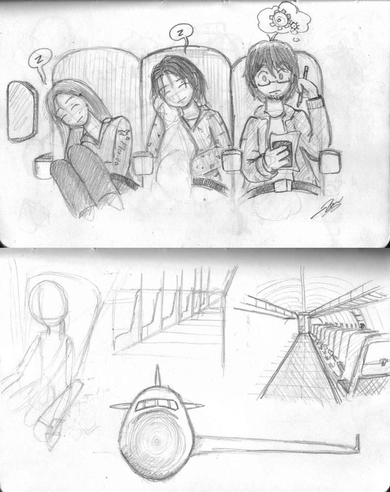 Airplane Ride By Mastastealth On Deviantart