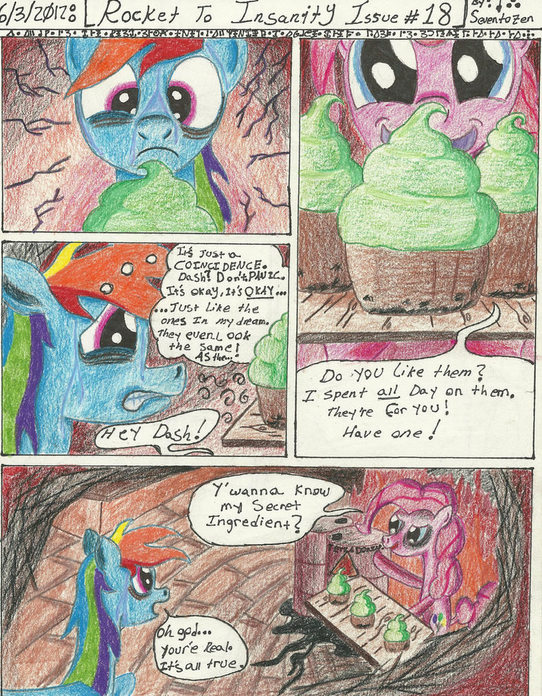 Rocket to Insanity: Falling Apart 10 by seventozen