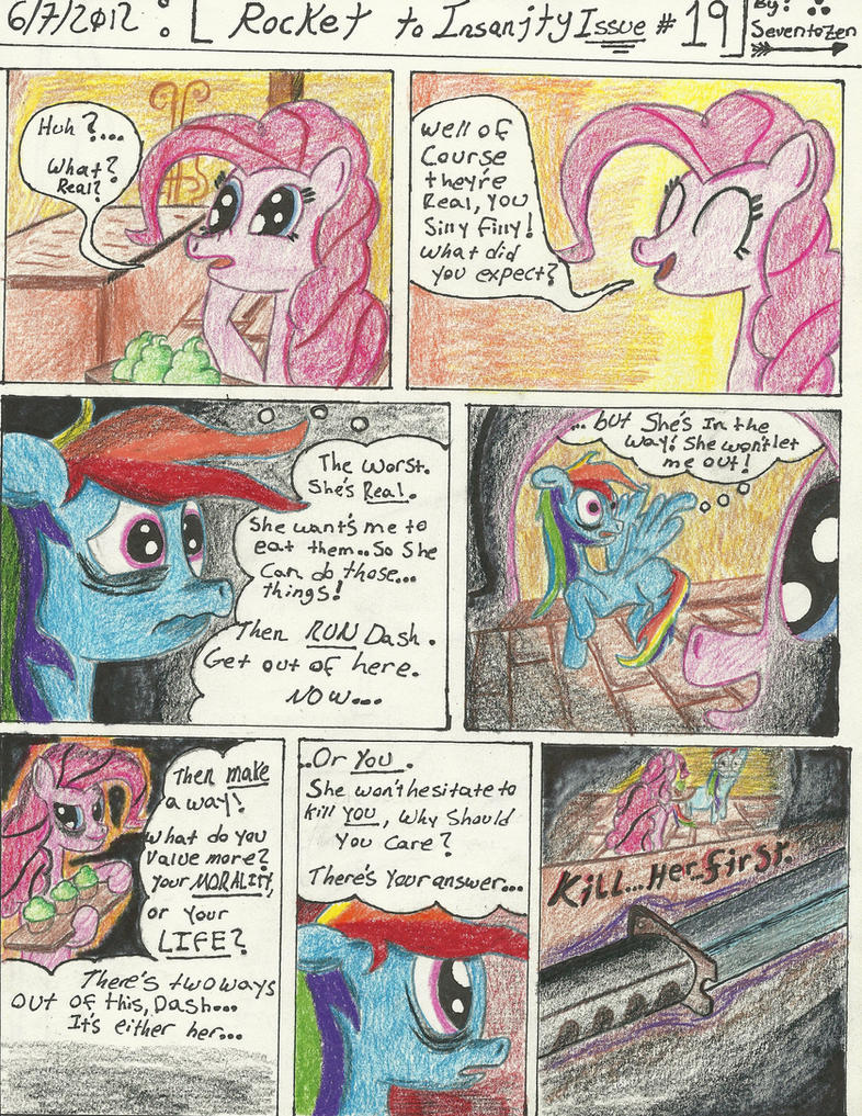 Rocket to Insanity: Falling Apart 11 by seventozen