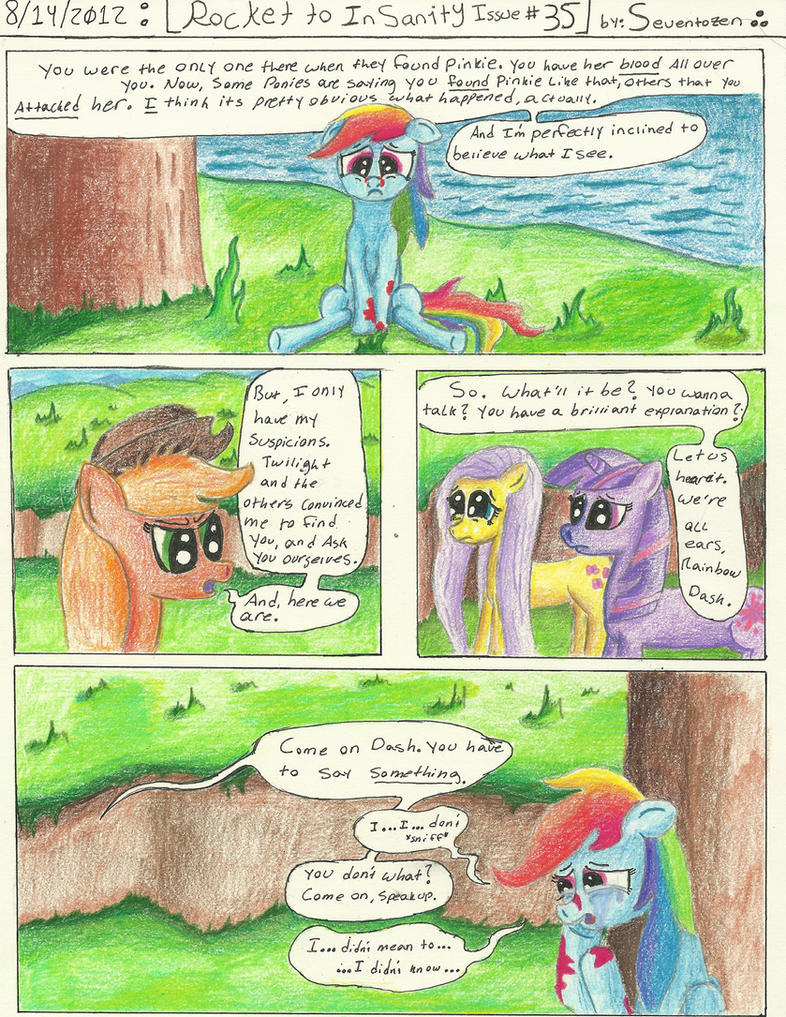 Rocket to Insanity: Rocket to Redemption 6 by seventozen